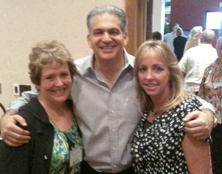 Christie with Mary Kamka & Bob Burg